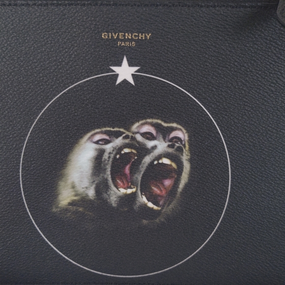 Givenchy  Zipped Pouche Monkey Brothers Zipped Pou